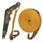 Ремень стяжной EKTO с 2-я крюками натяжение 2000 кг