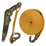 Ремень стяжной EKTO с 2-я крюками 5000 кг