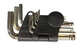 Ключи EKTO шестигранные в наборе 9 шт. 1,5-10 мм