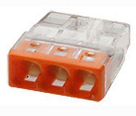 Миниатюрная клемма Wago 2273–243 с контактной пастой