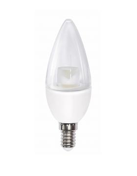 Лампа светодиодная 7.0Вт Е14 PLED-SP C37 3000К 530Лм теплый